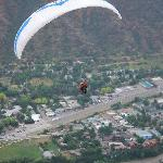 Gliding over Glenwood Springs
