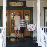 Our 1st anniversary at the best B & B!