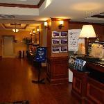 Lobby of Hampton Inn