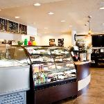 Our in-house coffee shop Boulevard Coffee