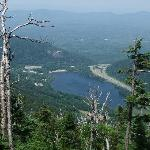 Echo Lake viewed from Cannon Mountain