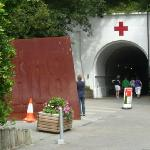 Entrace to tunnels