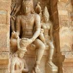 Gangaikondacholapuram - Chandikeswarar frieze