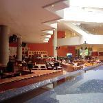 Hotelhalle mit Lobby Bar