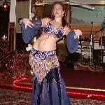 Belly Dancer performing show