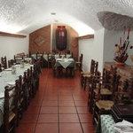 Comedor Casa Cueva de Pedro Antonio