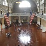The Great Hall at Ellis ISland