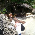 ein kleiner süßer Strand mit Bar 2007