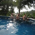 Aussicht vom Pool 2008