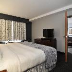 King Premier Suite - King Bed, separate living room with pull out and kitchenette