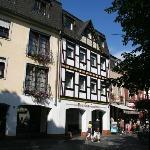 Voorfacade van Hotel Zum Annchen.