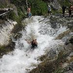 Taking the natural water slide