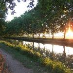 Sunset on the Canal du Midi