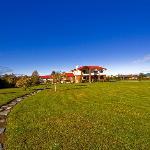 The Grounds of Te Anau Lodge