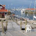 The quay at Sea Lodge.