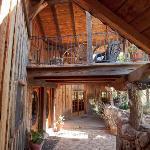 shady balcony