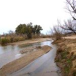El rio Ctalomochita en invierno