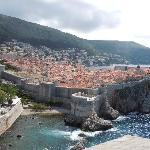 A view of Dubrovnik from Fort Lawrence