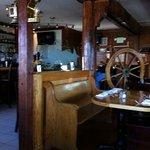interior dining space