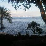 View from behind Sunrise Cafe, Lahaina