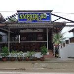 Facade of Amphibi-Ko