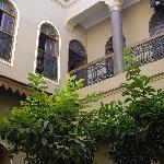 Façade interieure Riad Arocha - Marrakech