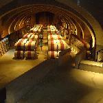 The cellar underground
