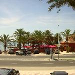 vieuw from the Mar Menor