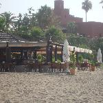 Beach cafe opp hotel