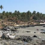 Vagator Beach - A View from a rocky cliff