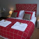 One of the new rooms at The White Hart Inn
