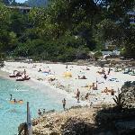 Font de sa Cala beach