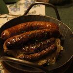 salsicce di Norimberga