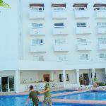 The resort's pools