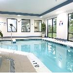 Get your daily workout in our heated-indoor pool and convenient fitness center!