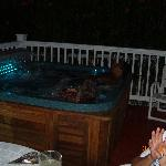 Our Night Jacuzzi