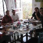 Breakfast at Villa Ana Marìa