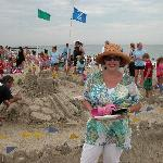 At the Sand Castle Competition