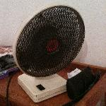 The fan that did nothing but make noise