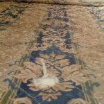 the nice TORN comforter