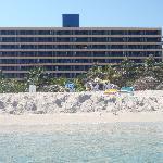 Hôtel situé tout près de la plage