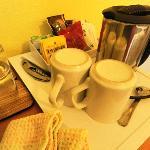 coffee & tea for room