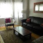 Living room at the front of the house.