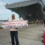 The NGO protesting against US military presence in Costa Rica.
