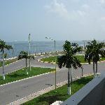 view from balcony Best Western Del Mar