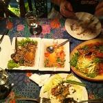 our dinner (well half of it)