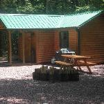 Buckhorn Cabin (our largest cabin)