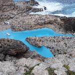 piscine creusée dans la roche