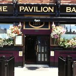 The front of The Pavilion Bar