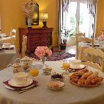 Hôtel La Bastide d'Iris - Salle petits déjeuners